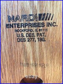 Vintage Dallas Cowboys Full Size Helmet NFL Draft Day Phone 1990s Nardi Riddell