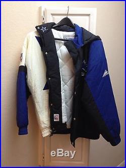 bed7ee503 Vintage Dallas Cowboys Pro Line Apex Hoodie Jacket