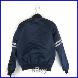 Vintage Dallas Cowboys Satin Starter Jacket Size Large Proline 90s NFL Mens L