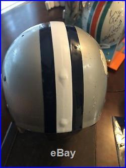 Vintage Dallas Cowboys TK Riddell Suspension Helmet. Not A Replica. Bull Ring