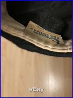 Vintage Sports Specialties Dallas Cowboys Script Black Wool Script Snapback
