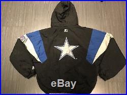 huge discount 2d3b0 22250 Vintage Starter Dallas Cowboys Mens NFL Jacket 90s OG ...