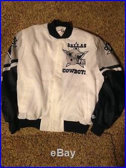 Vintage dallas cowboys chalk line jacket xl