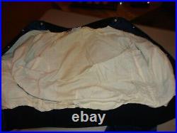 Vtg 80s Blue Dallas Cowboys SATIN Nfl Bomber LETTER Jacket Stahl Urban Sz M RARE