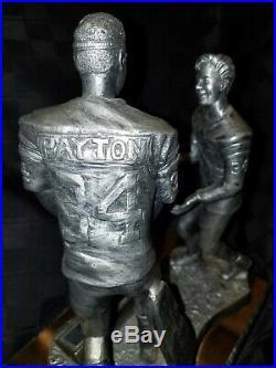 Walter Payton #34, Football Signature Series, 1996 Michael Ricker Pewter Figure