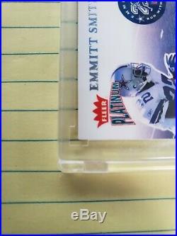 Walter Payton Fleer Platinum Run With History 5 Jersey Emmitt Smith Troy Aikman