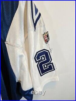 Wilson Deion Sanders Dallas Cowboys NFL Jersey Sz48 NoS/New w Tag vintage 90s